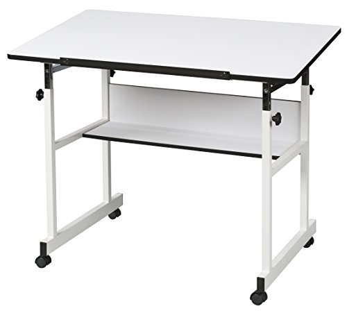 Alvin MM40-4-XB Minimaster II Drafting Table, White