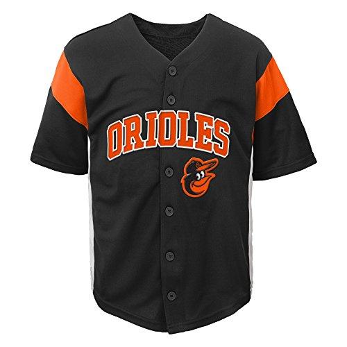 (MLB Baltimore Orioles Boys Fashion Jersey, Black,)
