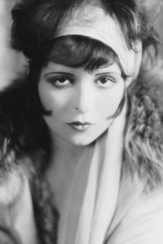 Clara Bow Hollywood glamour portrait 1920