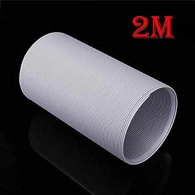 Hukz - Manguera de aire acondicionado, PVC flexible, diámetro 150 mm, longitud máxima 1,5/2 metros, para aire acondicionado móvil, aire acondicionado, secadora, campana y secadora, Multicolor: Amazon.es: Bricolaje y herramientas
