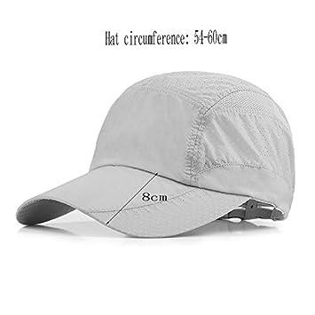 GHMM Cappello Uomo Estate Visiera esterna Femminile Cappello da sole  Berretto da baseball traspirante Berretto da a5e1b064ea0c