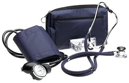 Prestige Medical A2-NAV - Kit con tensiómetro y estetoscopio tipo Sprague, color azul marino