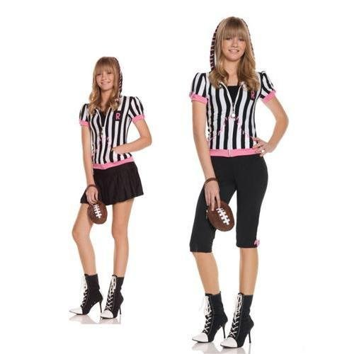 Sideline Sweetheart Referee Teen Costume By Elegant Moments - Small/Medium]()