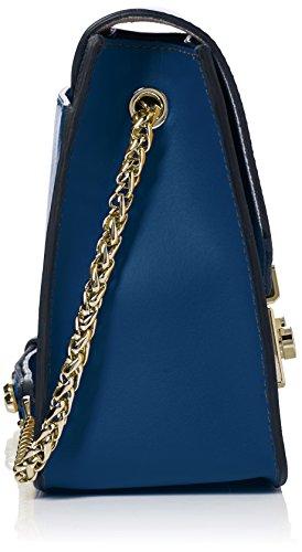 Spalla Blu blu H Pavone D Donna Furla A 851206 Borsa b Cm 8x16x25 X T PqA7tUTw