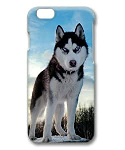 Siberian Husky Sakuraelieechyan Hard Protective 3D PC Case for Iphone6