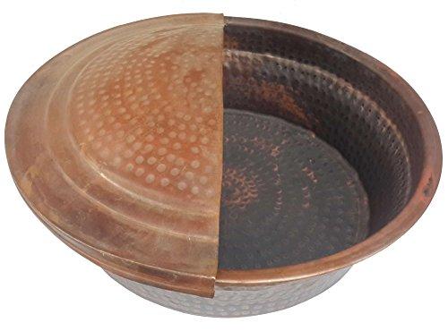 Egypt gift shops Fire Burnt Beauty Massage Wash Pedicure Spa Styling Salon Bowl + Foot Rest by Egypt Gift Shops