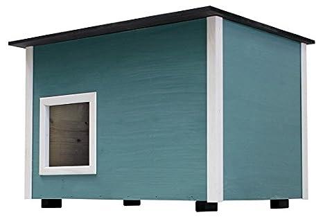 Elmato Deluxe Gato casa con Aislamiento Suelo, 60 x 40 x 43 cm: Amazon.es: Productos para mascotas