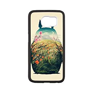 My Neighbour Totoro Samsung Galaxy S6 Cell Phone Case White bbed