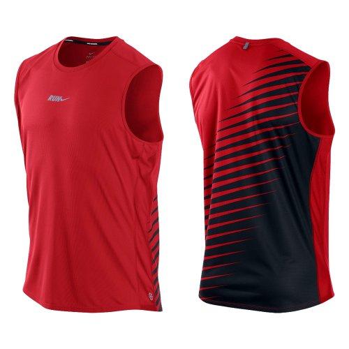 Nike Frauen Downshifter 7 Rot / Schwarz / Grau