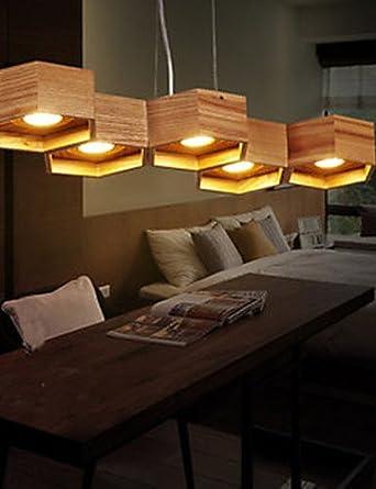 Lámpara de techo de luces - LED - diseño rústico - sala de estar/Dormitorio