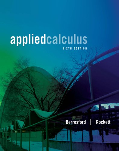 Download Applied Calculus (Textbooks Available with Cengage Youbook) Pdf