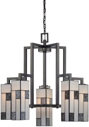 Designers Fountain 84186-CHA Bradley Chandeliers, 26.5 x 28.75 , Charcoal