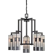 Designers Fountain 84186-CHA Bradley Chandeliers, Charcoal