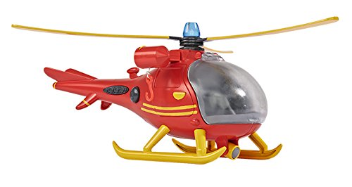 Spielzeugautos Simba Toys 109251661 Feuerwehrmann Sam Helikopter mit Figur