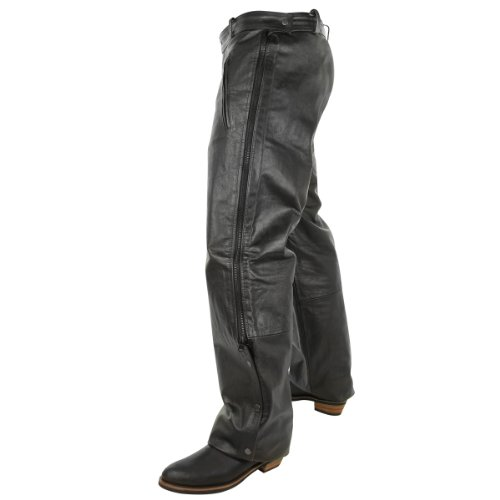 Leather Motorcycle Overpants - 1