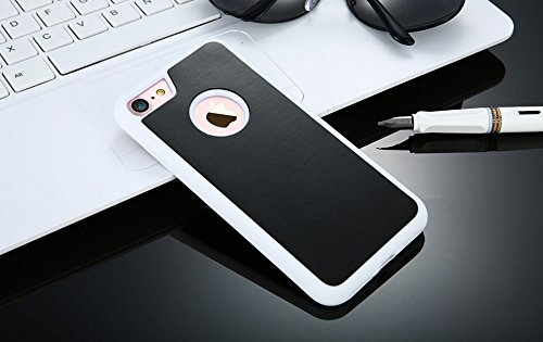 Anti Gravity Case per Apple Iphone 7 Plus 5.5 Pollice Smart Slim Case Book Cover Stand Flip (Bianco) NUOVO