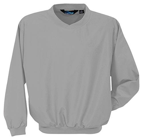 Tri Mountain Microfiber Windshirt With Nylon Lining  2500   Gray Xl