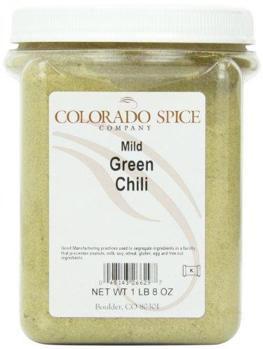 Colorado Spice Chili Pepper, Green Mild Powder, 24 Ounce