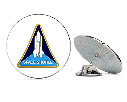 NYC Jewelers Triangle Space Shuttle Logo (NASA Seal Mission) Metal 0.75