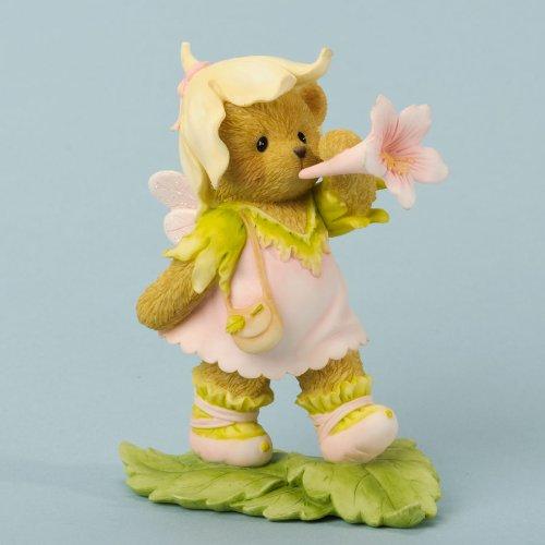 Cherished Teddies Fig Bear Fairy/Flower