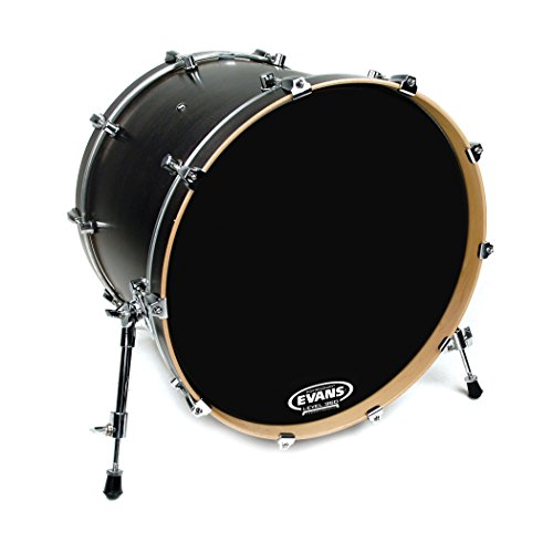 Evans EQ3 Resonant Black Tom Hoop Drum Head, No Port, 16 Inch