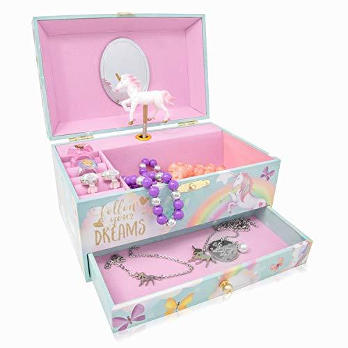 The Memory Building Company Jewelry Music Box (Unicorn)