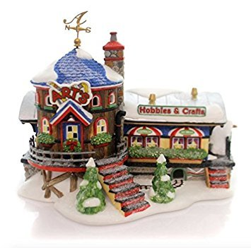 Department 56 North Pole Art's Hobbies & Crafts New #56897 Department 56 North Pole Series