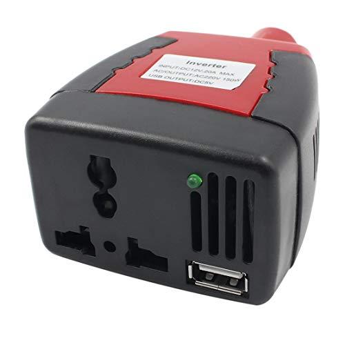chargeur puissance d'USB 220V voiture de le port CA d'énergie avec Alimentation DC de adaptateur d'allume à de cigare d'inverseur 150W 12V à Px1Rqw