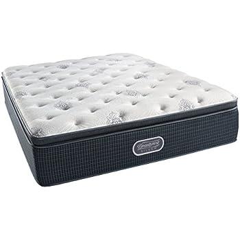 Amazon Com Simmons Beautyrest Silver Plush Pillow Top Mattress