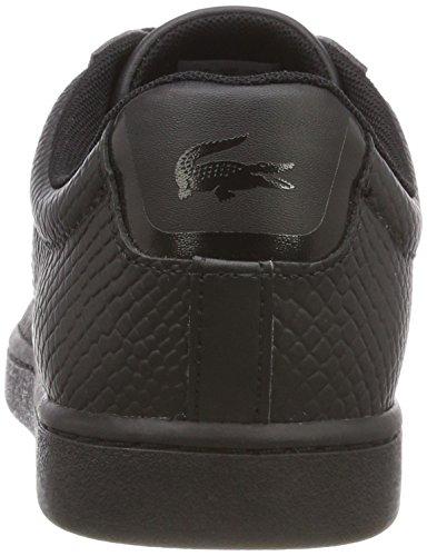 Negro Lacoste Evo Carnaby Mujer Zapatillas pxO74q