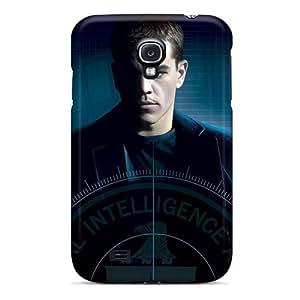Flexible Tpu Back Case Cover For Galaxy S4 - Matt Damon In Bourne Movies
