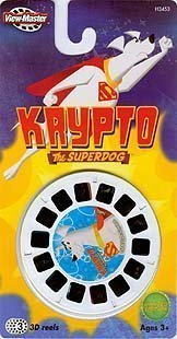 Fisher-Price Krypto The Superdog View-Master 3D 3 Reel Set