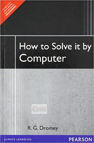 dromey how to solve it by computer