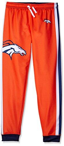 NFL Denver Broncos Women's Jogger Pants, Medium, Orange by Forever Collectibles