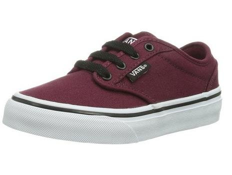 Vans Kids Atwood Shoes Oxblood Black Size 5.5]()