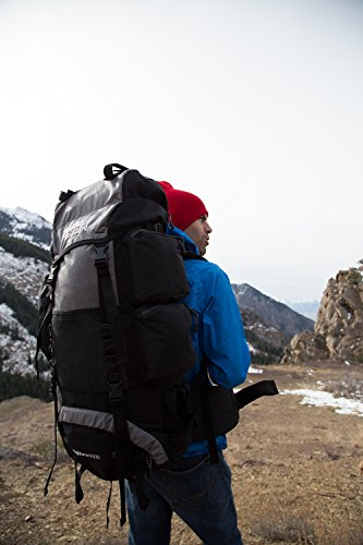 TETON Sports Explorer 4000 Internal Frame Backpack; High-Performance Backpack for Backpacking, Hiking, Camping 12 NOT YOUR BASIC BACKPACK: Continues to be the top selling internal frame backpack on Amazon at a great price for all the included features VERSATILE QUICK TRIP PACK: Perfect backpack for men, woman and youth; best for 3-5-day backpacking trips; 3400 cubic inches (65 L) capacity; weighs 5 pounds (2.3 kg) COMFORT YOU CAN CUSTOMIZE: Multi-position torso adjustment fits wide range of body sizes; Durable open-cell foam lumbar pad and molded channels provide maximum airflow and balance