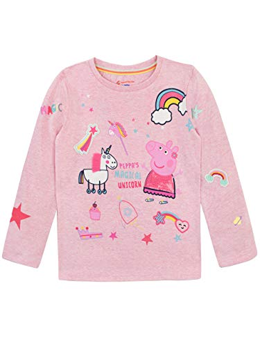 Peppa Pig Girls' Unicorn Long Sleeved Top Size 3T Pink for $<!--$21.95-->