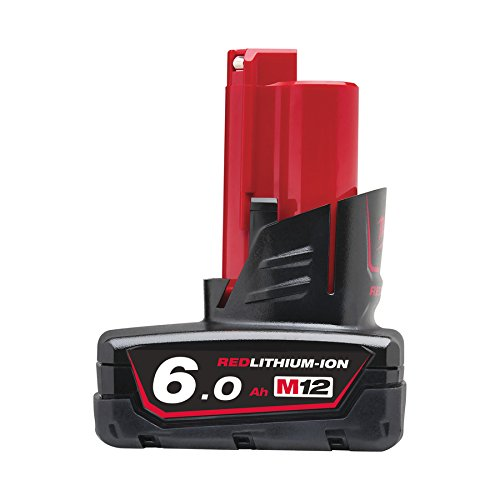 Milwaukee 4932451395 Batterie 12 V 6 Ah Red Lithium-ION 4932451395 M12B6