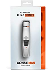 Conair 13-Piece Rechargeable All-In-One Beard & Mustache Trimmer Grooming System