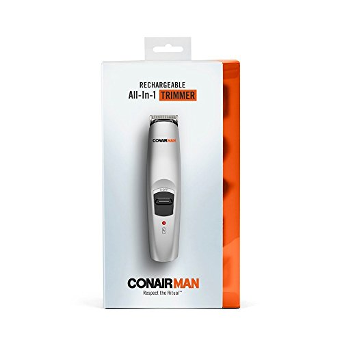 Conair 13-Piece Rechargeable All-In-One Beard & Mustache Trimmer Grooming System ()