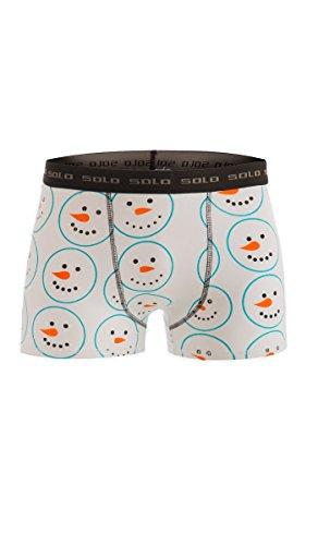 Solo® Herren Boxershorts, Cotton Stretch, Trend und Komfortabel Männer Unterhosen von Solo® Underwear - Fühle dich rundum bequem und stylisch mit Solo® Herren Unterwäsche.