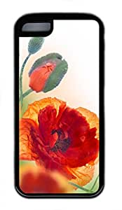 iPhone 5S Case - Red Poppy 5 Black iPhone 5S Cover, iPhone 5S Cases, Cute iPhone 5S Case