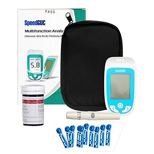 I3C Diabetes Testing Kit, 100 Lancets, 100 Glucometer Strips, 1 Blood Glucose Meter, 1 Lancing Device – Blood Glucose Monitor Kit