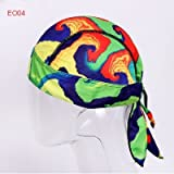 Gold Happy Skull Caps for Men - Fashionable, Winproof and Breathable Cap - Cool Printed - Pretty Comfortable And Light-Weight - Quick Dry Adjustable Cycling Hat - Head Cover Fits Under Helmets