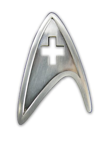 QMX Star Trek Medical Insignia Badge