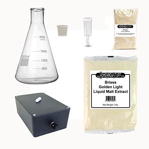 (HomeBrewStuff Deluxe Yeast Starter Kit with Stir Plate (2000ml))