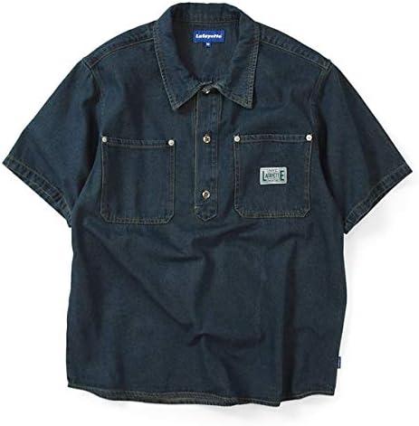 ラファイエット シャツ Denim Pullover S/S Shirt LS200202 インディゴブルー Mサイズ
