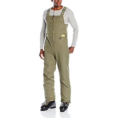 Arctix Men's Avalanche Bib Overall, Military Green, Large