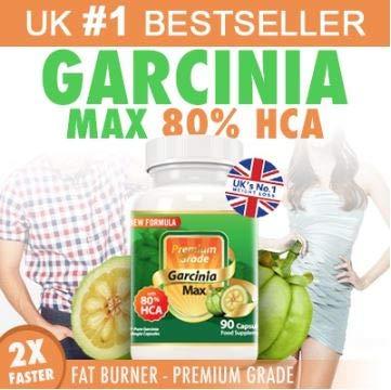 Garcinia MAX 100% Pure Garcinia Cambogia 7500mg 80% HCA, Extra Strength. Natural Appetite Suppressant, Carb Block, Caffeine-free, NEW Formula, Pharmaceutical Grade. (Best Appetite Suppressant Uk)