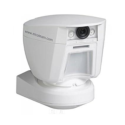 DSC pg8944 Sensor de movimiento PIR inalámbrico con cámara integrada y tecnología powerg